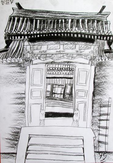 《古建筑》- 贺冠华